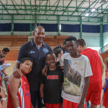 Alex English & campers Live your Legend